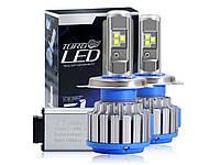 Комплект автомобільних LED ламп TurboLed T1 H4 6000K