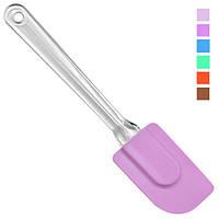 Лопатка кухонні Stenson HH-071, силікон, розмір 25*5.7*1см, кольори асорті, кухонне приладдя, набір