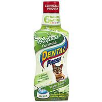 SynergyLabs Dental Fresh Cat СИНЕРДЖИ ЛАБС СВЕЖЕСТЬ ЗУБОВ жидкость от зубного налета и запаха из пасти кошек