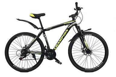 """Горный алюминиевый велосипед 29"""" Champion Lector Shimano 180-195 см"""