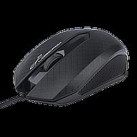 Мишка комп'ютерна провідна Duck LF-MS 070 чорний, USB, миша, комп'ютерна миша, Usb-миша, миша дротова