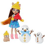 Игровой набор Энчантималс Белочки и снеговички Снежные забавы Enchantimals GNP16, фото 4