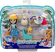 Игровой набор Энчантималс Белочки и снеговички Снежные забавы Enchantimals GNP16, фото 10