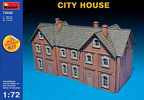 Сборная модель. Городской дом. 1/72 MINIART 72030
