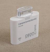 Картридер Camera Сonnection Kit BYL-902 Apple для IPAD, micro SD, белый, картридеры, кардридер, Cardreader