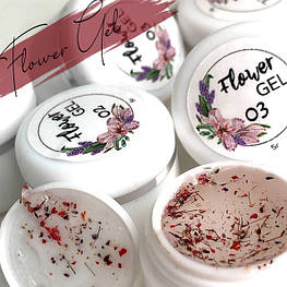 Гелі з сухоцвітом Saga Flower Fairy gel