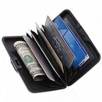 Гаманець - візитниця унісекс Aluma Wallet Large XL розмір 173х84х22мм, різні кольори, пластик, Кошелеки,