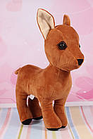 М'яка іграшка козуля, плюшева козуля 37 див., фото 1
