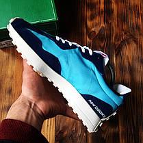 Кросівки чоловічі New Balance 327 Blue Нью Беланс 327 Сині Репліка, фото 3