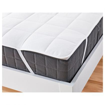 Наматрасник на резинках по углам стеганый Comfort Night 160x200 см
