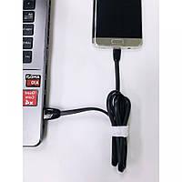 Кабель USB для зарядки iphone 5/6/7/8, solo-cc05, чорний, USB кабель, кабель для зарядки і передачі даних