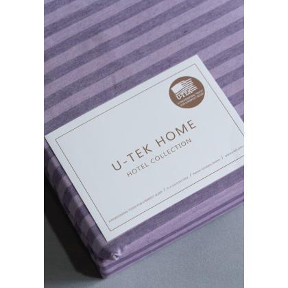 Набор Plum-Lilac 30 Простынь натяжная 140x190 см + Наволочка 50x70 см