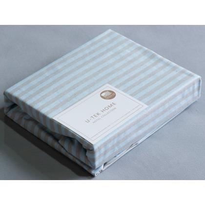 Набор Blue-Grey 30 Простынь натяжная 80x190 см + Наволочка 50x70 см