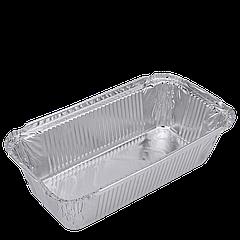Контейнер прямоугольный из алюминиевой фольги 900мл 201*109*49 (R62L) ,уп/100шт