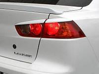 Реснички на задние фонари (стопы) Mitsubishi Lancer X 2007+ г.в., фото 1
