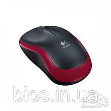 Мишка Logitech M185 Red Cordless, бездротова, USB