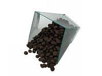 Шоколадные дропсы черные 1 кг Украина (901-Р)