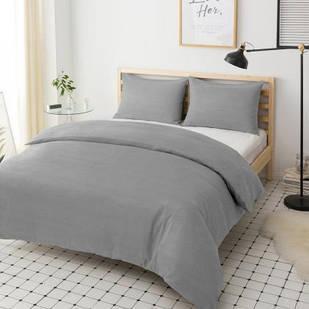 Наволочка Melange Grey 40x60 см