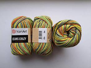 Пряжа Джинс Крейзи ЯрнАрт Jeans Crazy YarnArt (RAM) цвет 7201