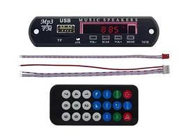 Модуль MP3, USB,Bluetooth, MicroSD, AUX,FM, Встраиваимая Панель