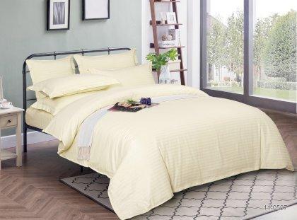 Простынь натяжная U-tek Home Beige Stripe 140х200 см
