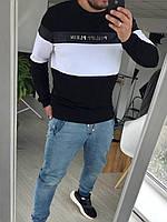 Мужская кофта черная, мужской свитшот, стильный свитер Philipp Plein Турция