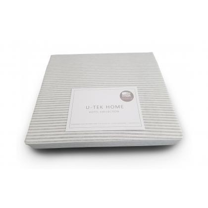 Простынь натяжная Grey 10 160х190 см