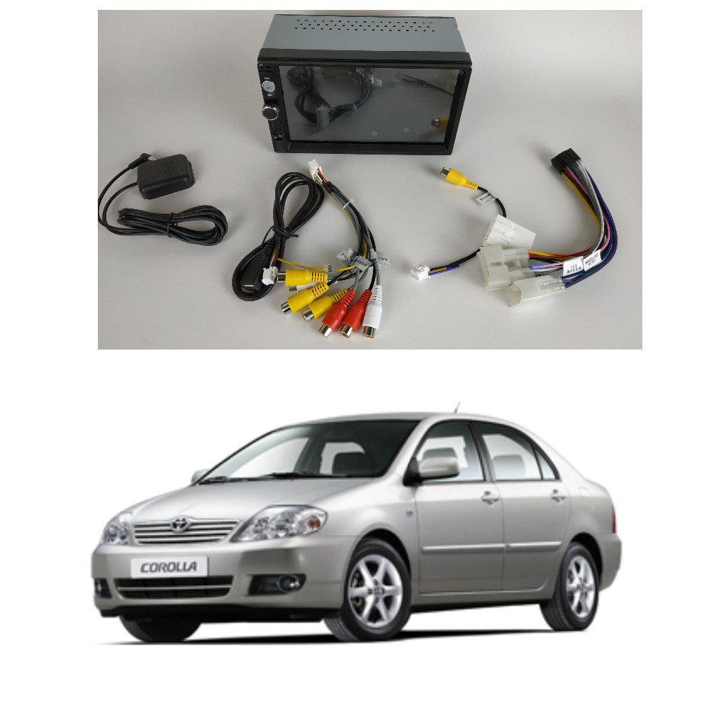 Штатная Android Магнитола на Toyota Corola 2003-2006 Model 3G-WiFi-solution (М-ТКр-7-3Ж)