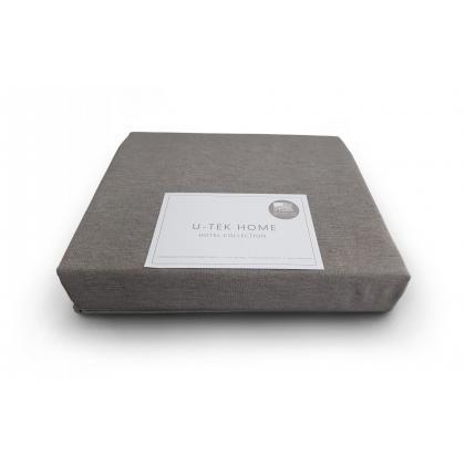Простынь натяжная U-TEK Cotton Cacao 200х220