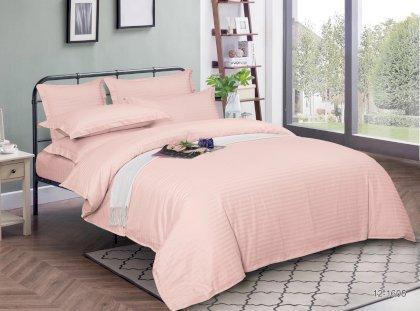 Простынь натяжная U-tek Home Light Rose Stripe 180х200 см
