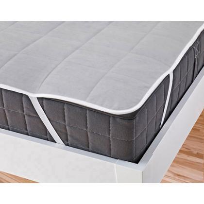 Наматрасник на резинках по углам стеганый Melange Cotton 90x190 см