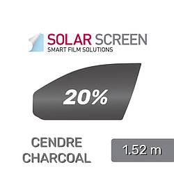 Charcoal Cendre 80C, світлопропускання 20%
