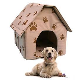 Будки, будиночки і т. д. для котів і собак