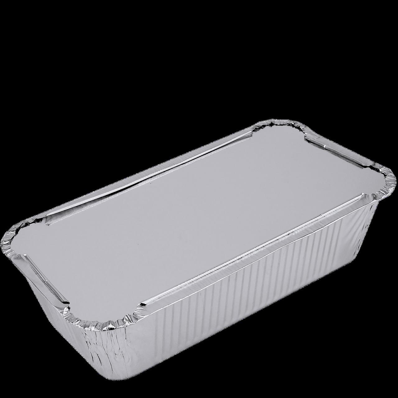 Крышка к прямоугол. алюм. контейнеру 900мл из алюминиевой фольги и картона (SP62L) уп/100 шт