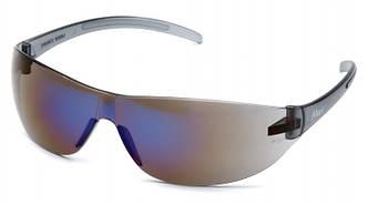 Спортивні окуляри з темно-синіми лінзами Pyramex ALAIR