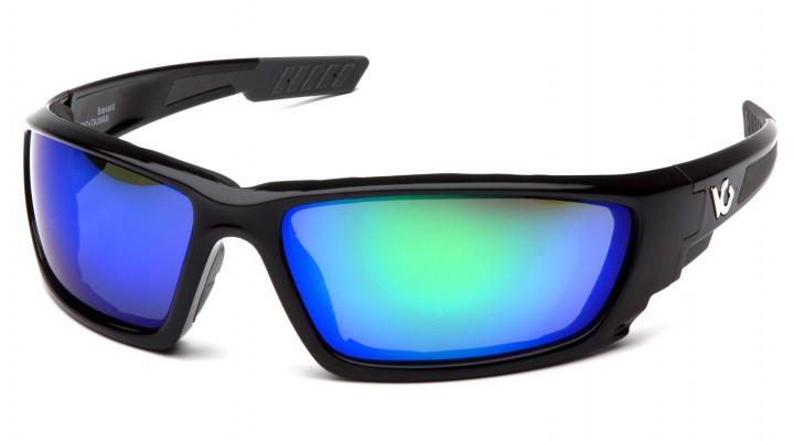 Спортивні окуляри Venture Gear BREVARD BLACK Green Mirror