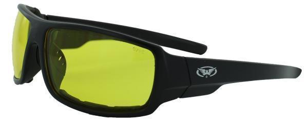 Спортивні окуляри Global Vision Eyewear ITALIANO PLUS Yellow