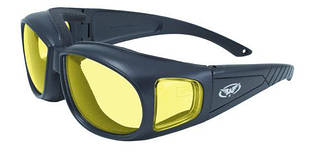 Накладні окуляри Global Vision Eyewear OUTFITTER Yellow