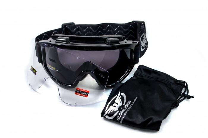 Спортивные очки со сменными линзами Global Vision Eyewear WIND-SHIELD