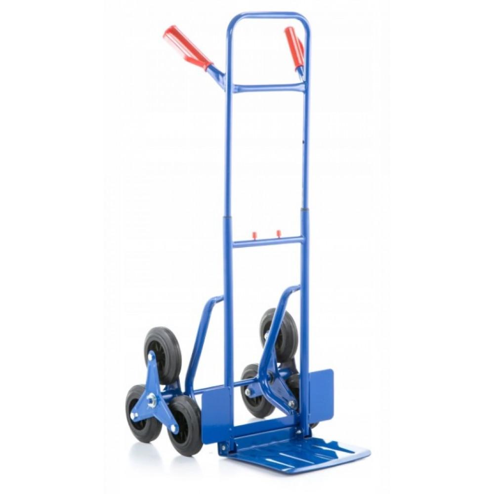 Тележка грузовая лестничная ручная трансформер Siker до 250 кг транспортная для лестницы с выдвижной ручкой