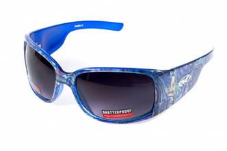 Женские солнцезащитные очки Global Vision Eyewear BLUE OPAL Smoke