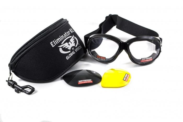 Спортивні окуляри зі змінними лінзами Global Vision Eyewear ELIMINATOR