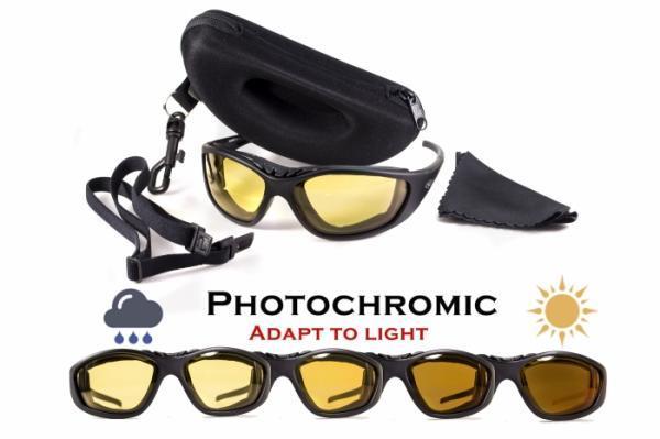 Фотохромні окуляри хамелеони Global Vision Eyewear FREEDOM 24 Yellow