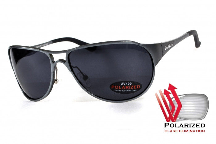 Поляризационные очки BluWater ALUMINATION 3 Gunmetal Gray