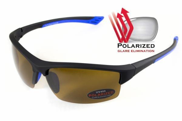 Поляризаційні окуляри BluWater DAYTONA 1 Blue Brown