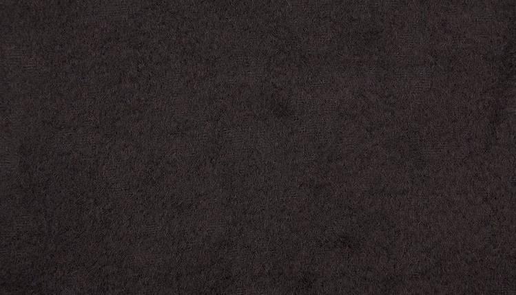 Пальтовая ткань вареная шерсть черная, фото 2