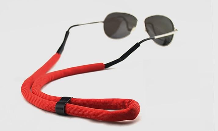Ремінець поплавок для окулярів, червоний
