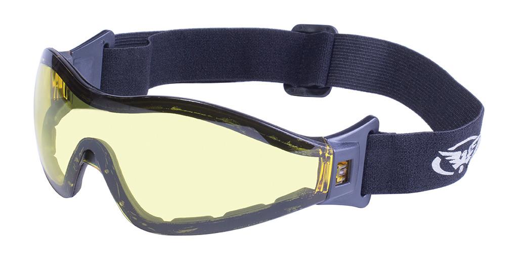Окуляри для стрибків з парашутом Global Vision Eyewear Z-33 Yellow