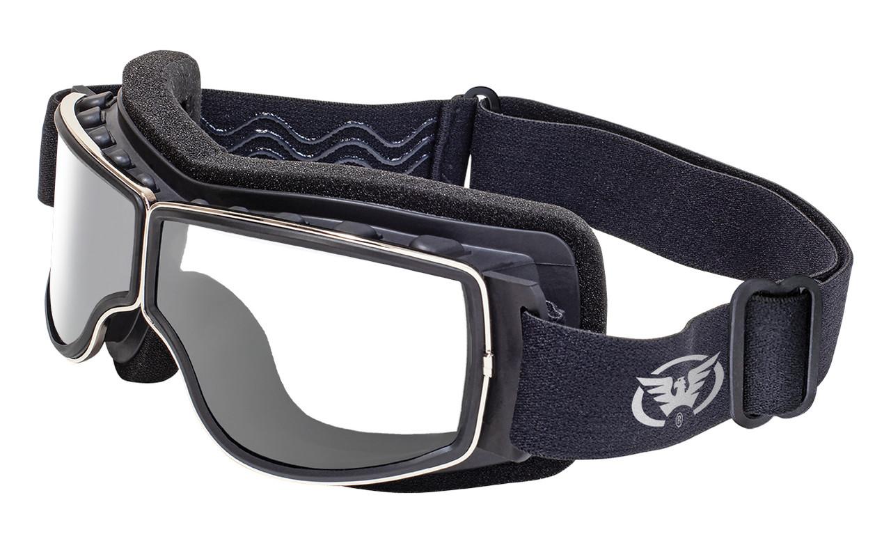 Ретро мотоочки Global Vision Eyewear ULTIMATE Clear