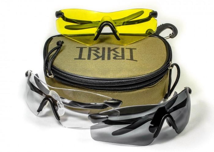 Спортивні окуляри набір 3-в-1 Pyramex ROTATOR TRIKIT